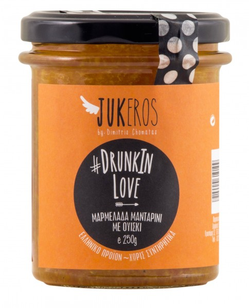 Drunk in Love Mandarinen Marmelade mit Whiskey, 250 g
