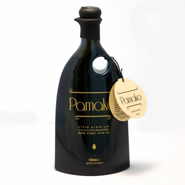 Pamako Ultra Premium Monovarietal-Mountain Extra Virgin Olivenöl, 500 ml