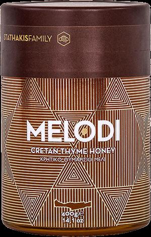 Kretischer Premium Thymian Honig MELODI im Geschenkkarton, 400g