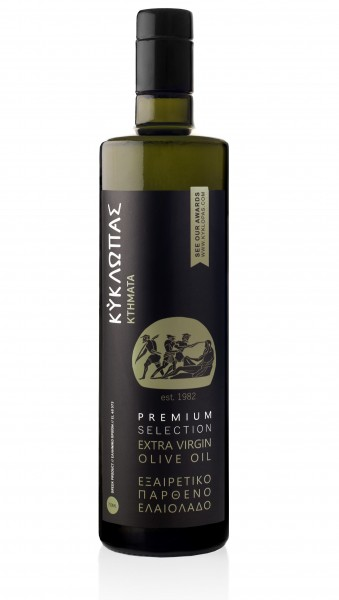 Kyklopas Extra Virgin Olive Oil Premium Selection MDH 6/2021, 750ml