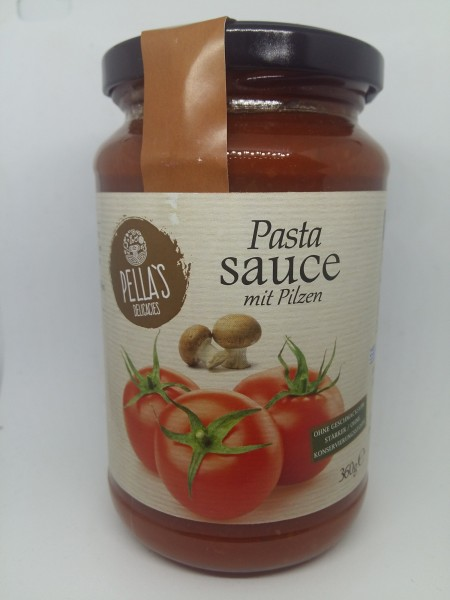 Tomaten Sauce mit Pilzen, ready-to-serve, 350 g