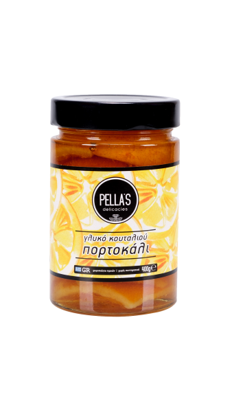 Orangen Löffelsüßigkeit-Glykó Koutalioú Portokáli, 400 g
