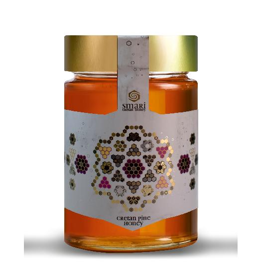 Kretischer Premium Pinien Honig, 460 g