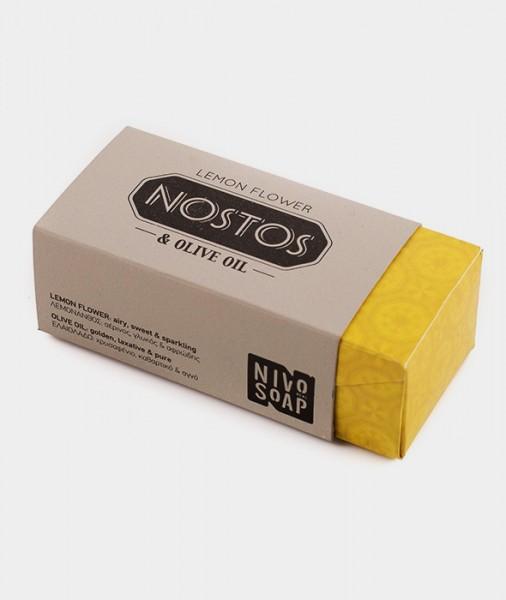 Nivosoap Olivenöl Seife Nostos Lemon Flower, 80 g