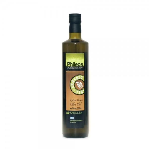 Phileos Bio Premium Olivenöl aus Sparta, 750 ml