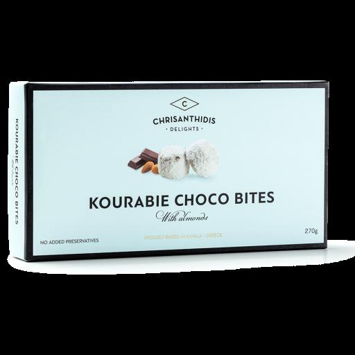Kourabiedes Schoko Häppchen mit Mandeln, 270 g