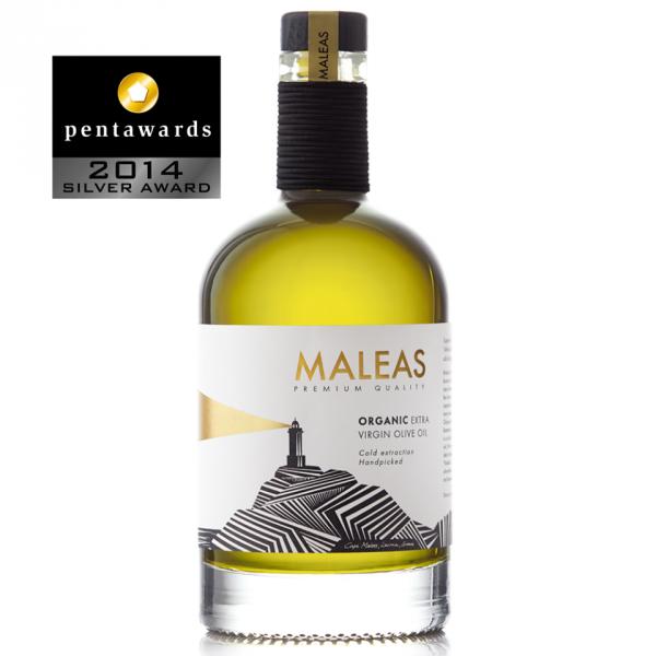 MALEAS BIO Premium Olivenöl aus Sparta, 500 ml