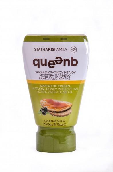 """""""queenb"""", Kretischer Honig mit kretischem Olvenöl , 230 g"""