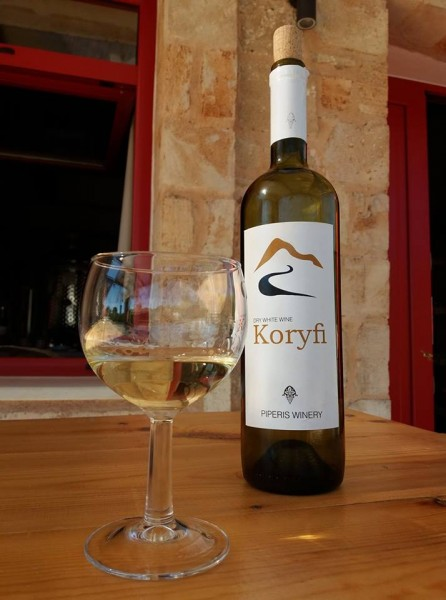2016 Koryfi Weiss trocken, 0,75 Liter