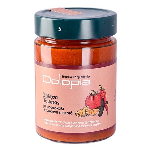 Tomatensauce mit Orangen und roter Spitzpaprika, 350 g