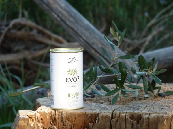 Evo 3 extra natives Bio-Olivenöl - frühe Ernte, 250 g