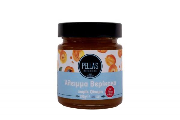PELLA`S Aprikosen Aufstrich ohne Zucker, 225 g