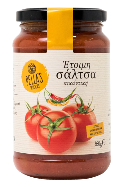 Tomaten Sauce mit Chili, ready-to-serve, 360 g