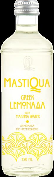 Griechische Lemonada mit Mastiqua Aqua Minerale, 330 ml