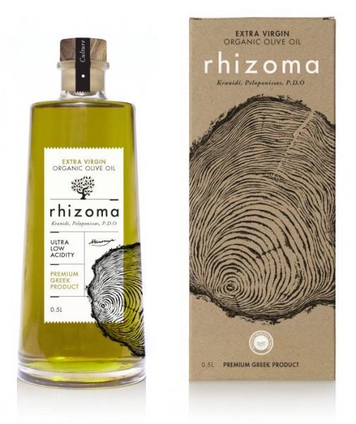 Rhizoma Bio Premium Olivenöl PDO, 500 ml
