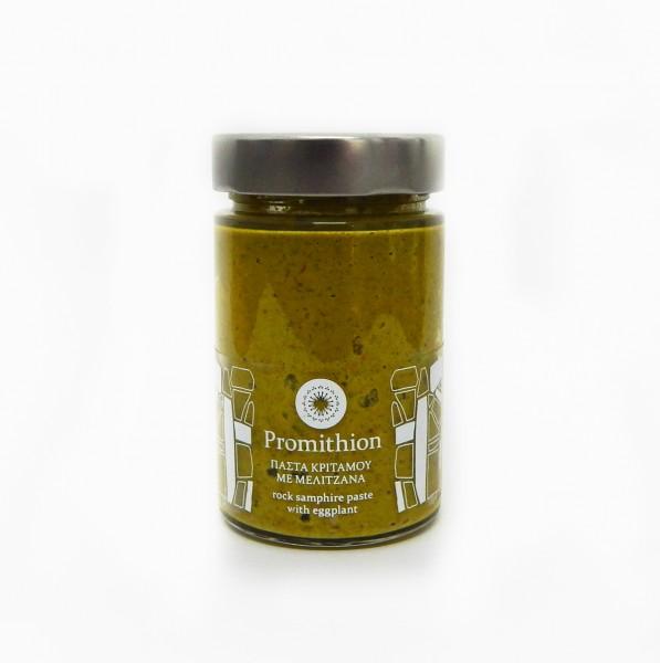 Bio Meerfenchel-Pesto mit Auberginen, 330 g