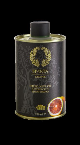 Kretisches Olivenöl mit Blutorangen Aroma, 250 ml