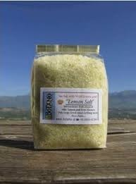 Meersalz mit Zitronenschalen- Fleur de Sel mit Zitrone, 200 g
