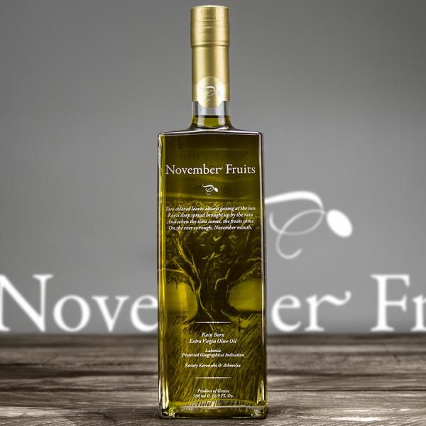 November Fruits Premium Olivenöl PGI Laconia 500ml