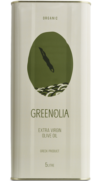 Greenolia Bio Premium Olivenöl Amfissis Koroneiki, 5 Liter
