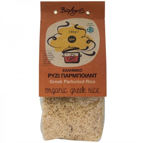 Griechischer Bio-Parboiled Reis, 500 g
