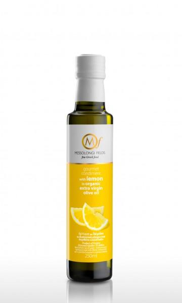 Messolongi Gourmet Zitronen Olivenöl, 250 ml