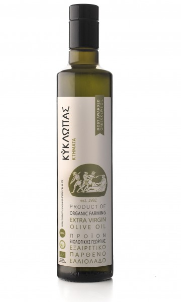 Kyklopas Bio Premium Olivenöl, naturbelassen, 500ml