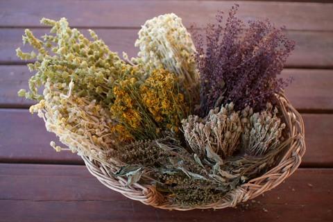 Mediterranean Garden, Tee für die Seele