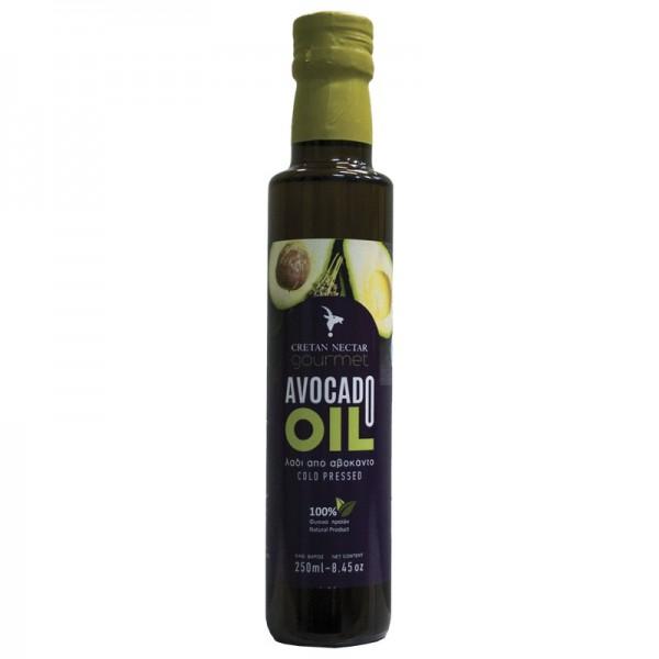 """Cretan Nektar"" Avocadoöl aus Bio-Avocados (essbar), 250ml"