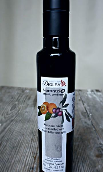 Biolea Nerantzio Olivenöl mit Bio-Bitterorangen 250 ml