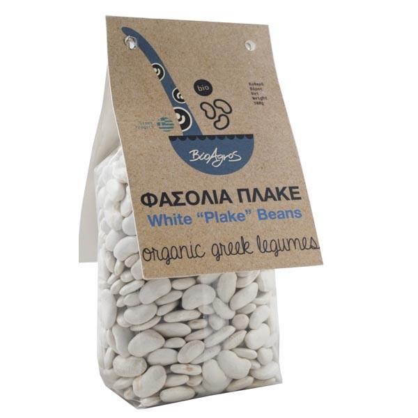 """""""BioAgros"""" Griechische Bio Weiße Flachbohnen, 500 g"""
