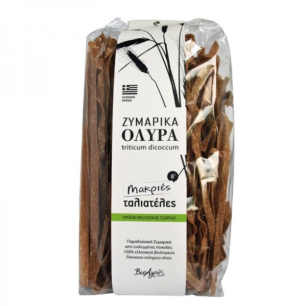 Traditionelle Bio Pasta Tagliatelle Emmer ( Zweikorn ), 400 g