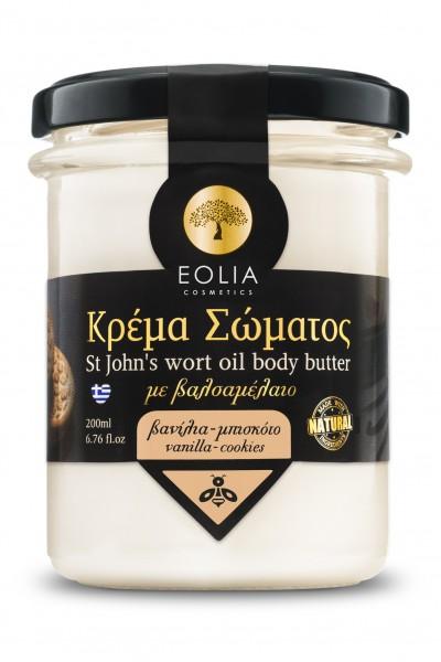 """Sparta Goods"" EOLIA Body Cream Vanille & Cookies, 200 ml"