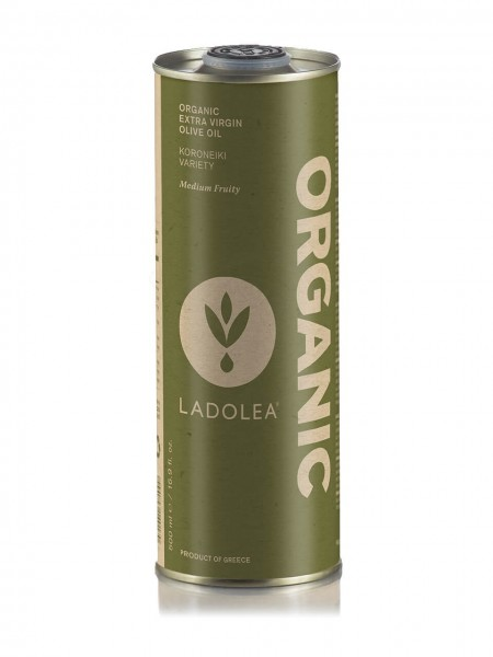 Ladolea Extra Natives Bio Olivenöl Koroneiki, 500 ml Dose