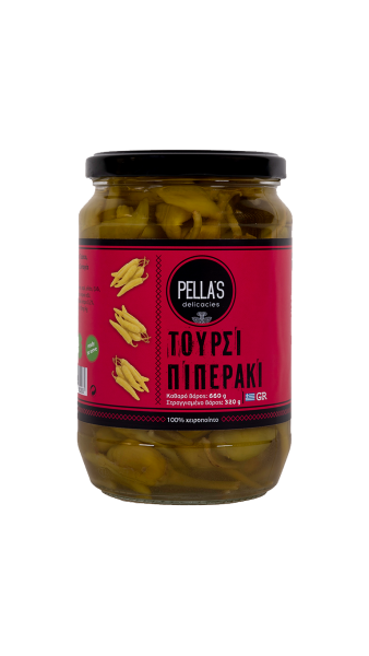 Peperoni (Piperaki)-Eingelegtes Gemüse, 660 g