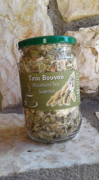 Griechischer Bergtee (Eisenkraut) aus Arkadien, 60 g Glas