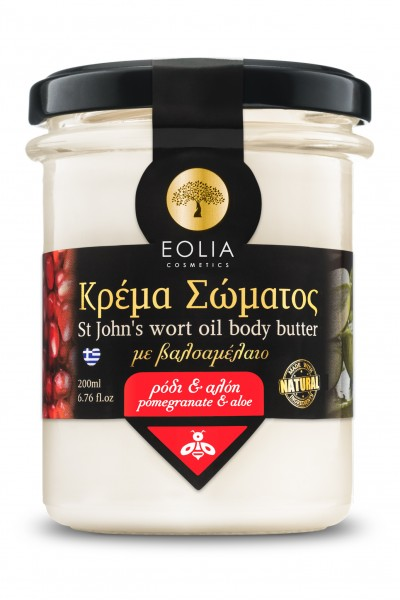 """Sparta Goods"" EOLIA Body Cream Granatapfel - Aloe, 200 ml"