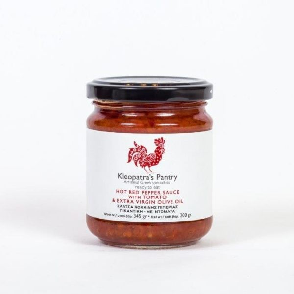 Rote Paprika Sauce mit Tonaten-scharf, 200 g