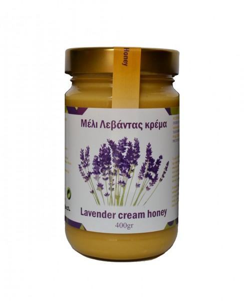Lavendel Cream Honig, 400 g