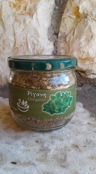 Oregano aus Arkadien, gerebelt 60 g. Glas