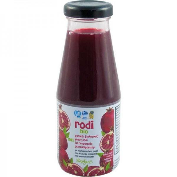 """Bio-Granatapfelsaft """"Rodi"""" von BioAgros, 200 ml"""
