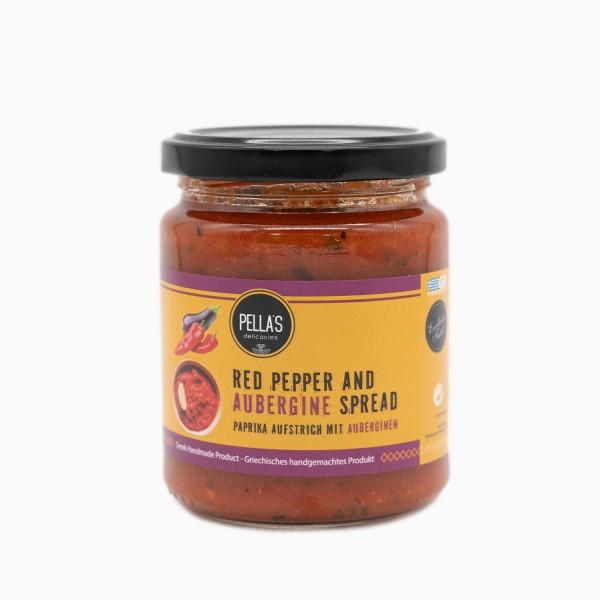 Paprika Aufstrich mit Auberginen, 260 g
