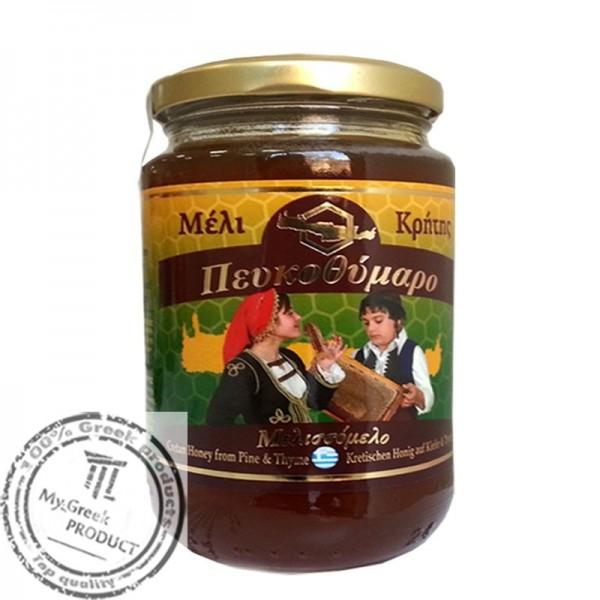 Kretischer Pinien und Thymianhonig, 450 g