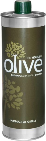 The House of Olive, Bio Olivenöl Extra Vergine, 500 ml