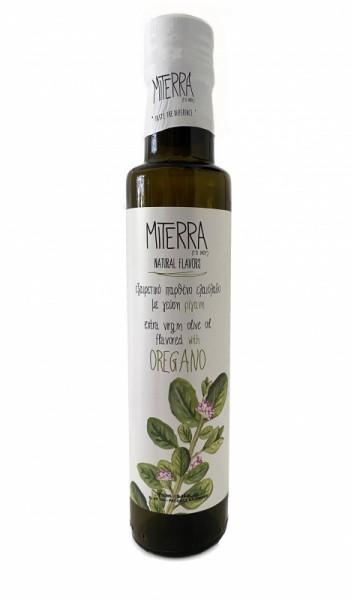 """Miterra"" Premium Oregano-Olivenöl aus Kreta Koroneiki, 250 ml"