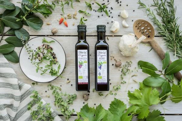 Silver Leaf Bio Weinessig und Bio Balsamico, 2x 250 g