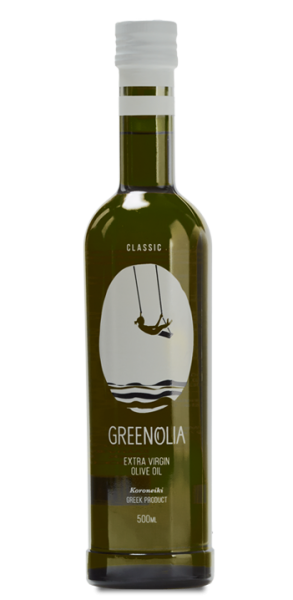 Greenolia Premium Extra Virgin Olive Oil Koroneiki, 500 ml