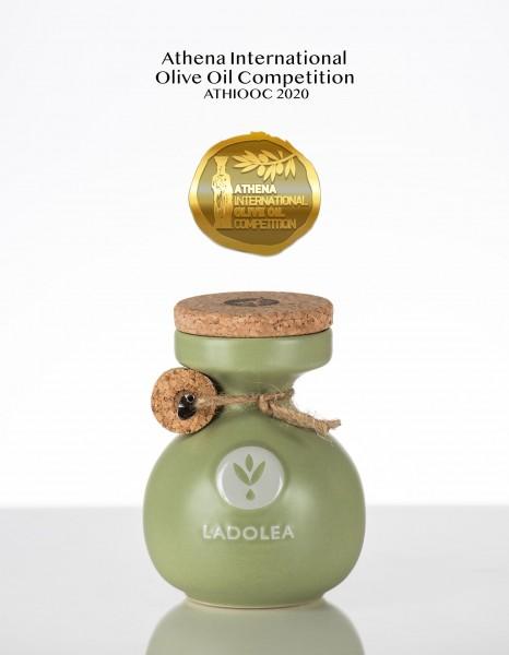 Ladolea Premium Bio Olivenöl Koroneiki, Keramik 200 ml