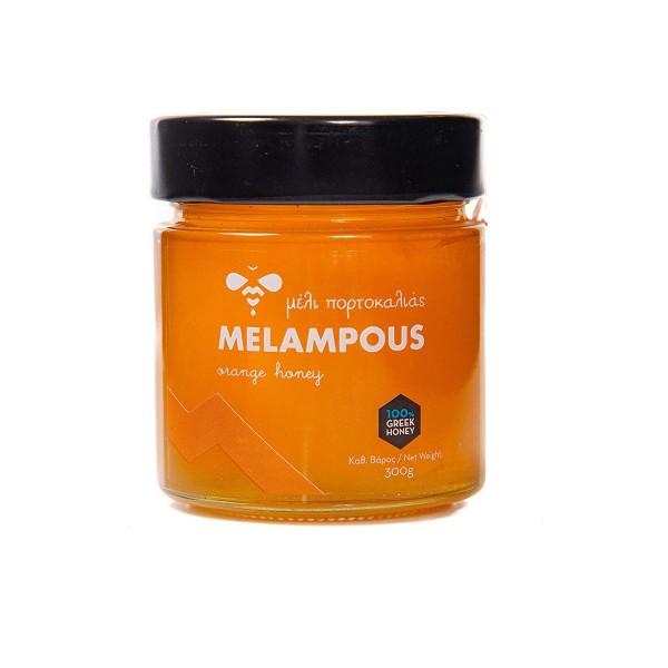 Melampous Orangen Honig, 300 g