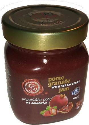 Granatapfel Marmelade mit Erdbeeren, 360 g